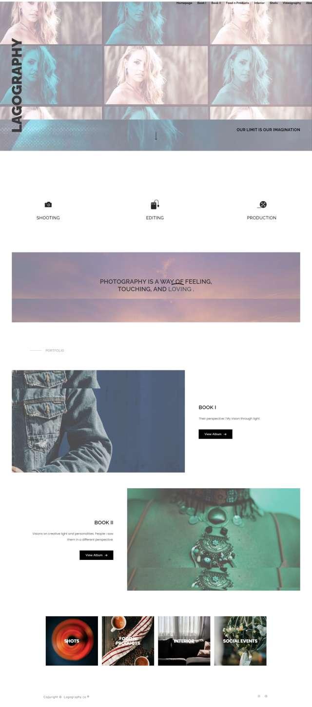 Katsoulis-IT - Lagography Website Screenshot